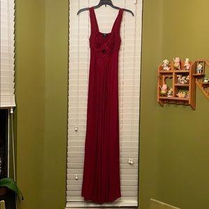 Red Sky Maxi Dress